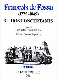 3 Trios Concertantes, op.18 [Vn/Vc/Gtr] available at Guitar Notes.