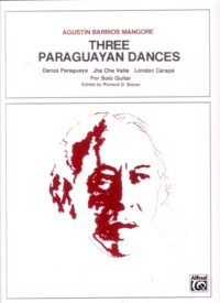 Three Paraguayan Dances(Stover) available at Guitar Notes.