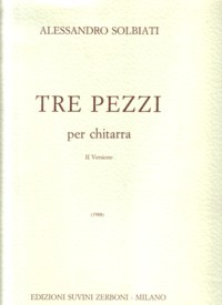 Tre Pezzi available at Guitar Notes.
