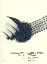 Two Waltzes, op.4 available at Guitar Notes.