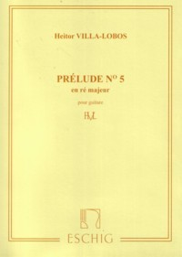 Prelude no.5 in D available at Guitar Notes.