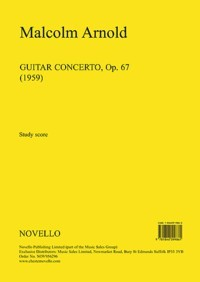 Guitar Concerto, op.67 [score] available at Guitar Notes.