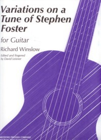 Variations on a Tune of Foster(Leisner) available at Guitar Notes.
