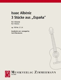 Espana op.165/2, 5, 6 (Maesmanns) available at Guitar Notes.