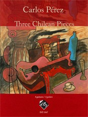 Three Chilean Pieces available at Guitar Notes.
