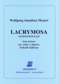 Lacrymosa, K626(Sullivan) available at Guitar Notes.