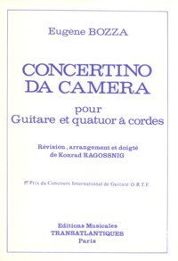 Concertino da Camera[2Vn/Va/Vc/Gtr] available at Guitar Notes.