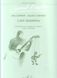 Lady Madonna(Couasnon) [6Gtr] available at Guitar Notes.