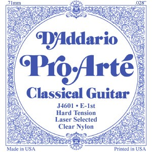 Pro Arte: J46-3T Clear/Hard/Treble Set available at Guitar Notes.