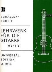 Lehrwerk fur die Gitarre, Vol.3 available at Guitar Notes.