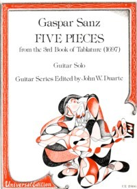 Five Pieces(Duarte) available at Guitar Notes.