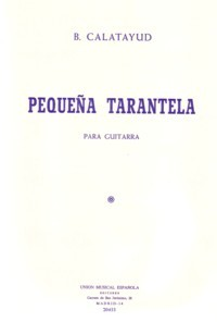 Pequena Tarantela available at Guitar Notes.
