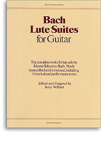 Lute Suites for Guitar(Willard) available at Guitar Notes.