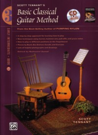 Basic Classical Guitar Method, Book 3 available at Guitar Notes.