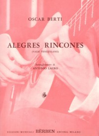 Alegres Rincones(Lauro) available at Guitar Notes.