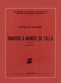 Omaggio a Falla, op.63 available at Guitar Notes.
