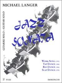 Jazz Sonata available at Guitar Notes.