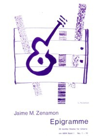 Epigramme Vol.1 available at Guitar Notes.