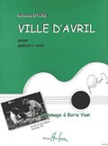 Ville d'Avril available at Guitar Notes.