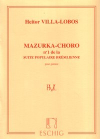 Mazurka-choro available at Guitar Notes.