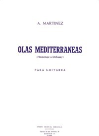Olas Mediterraneas available at Guitar Notes.