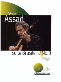 Suite Brasileira no.3 available at Guitar Notes.