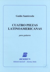 Cuatro Piezas Latinoamericanas available at Guitar Notes.