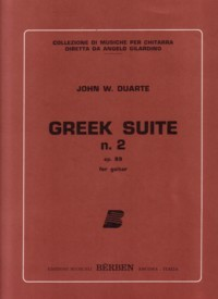 Greek Suite no. 2, op.89 available at Guitar Notes.