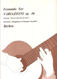 Variazioni, op.16(Gazzelloni) available at Guitar Notes.