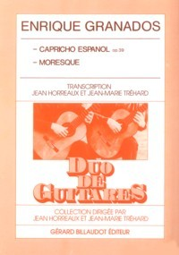 Capricho Espanol; Moresque(Horreaux/Trehard) available at Guitar Notes.