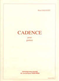 Cadence(Prevost) available at Guitar Notes.