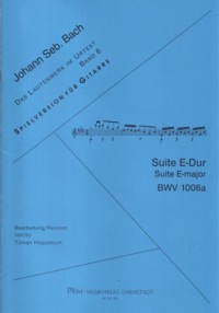 Lute Suite in E, BWV 1006a(Hoppstock) available at Guitar Notes.