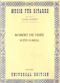 Suite in d-minor(Scheit) available at Guitar Notes.
