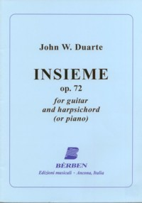 Insieme, op.72 available at Guitar Notes.