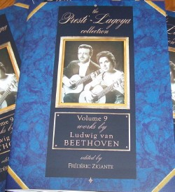 Presti-Lagoya Collection Vol.9: Beethoven available at Guitar Notes.
