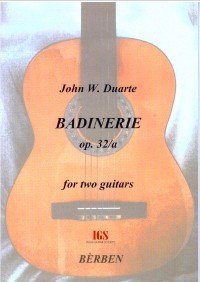 Badinerie op.32a available at Guitar Notes.