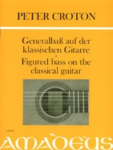 Figured Bass on the Classical Guitar available at Guitar Notes.