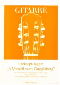 Swiss Folksongs in Easy Settings available at Guitar Notes.