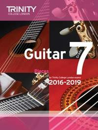 Guitar Exam Pieces Grade 7 2016-2019/20 available at Guitar Notes.