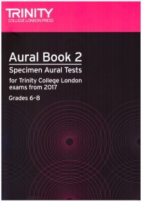 Aural Book 2(Grade 6-8) 2017- (NEW) available at Guitar Notes.