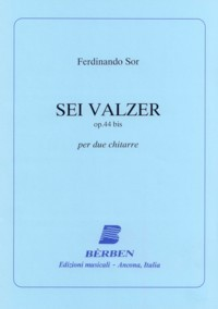 Sei Valzer, op.44bis(Carfagna) available at Guitar Notes.