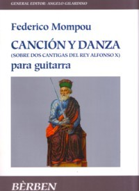 Cancion y Danza no.10(Gilardino/Biscaldi) available at Guitar Notes.