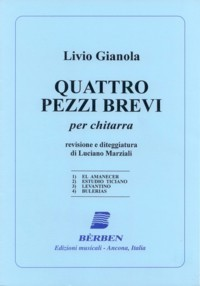 Quattro Pezzi Brevi(Marziali) available at Guitar Notes.
