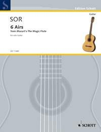 Six Airs on the Magic Flute, op.19(Smith-Brindle) available at Guitar Notes.