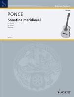 Sonatina meridional (Segovia) available at Guitar Notes.
