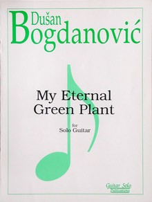 My Eternal Green Plant available at Guitar Notes.