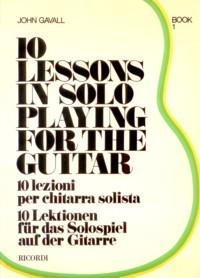 10 Lessons in Solo Playing: Book 1 available at Guitar Notes.