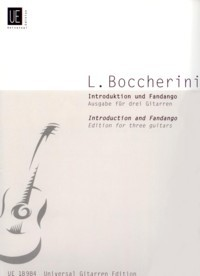 Introduction & Fandango(Wallisch) available at Guitar Notes.