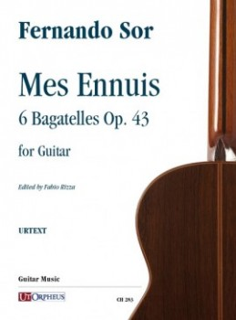 Mes Ennuis op.43 available at Guitar Notes.