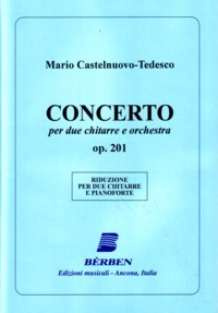 Duo Concerto, op.201 [2Gtr] [score] available at Guitar Notes.